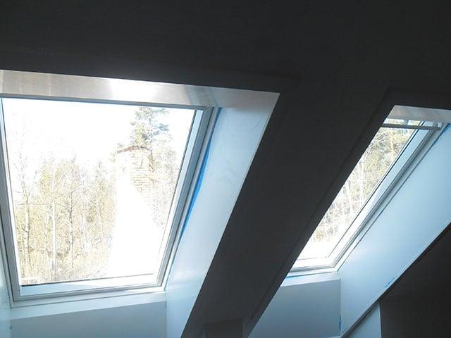 Byte av fönster samt renovering