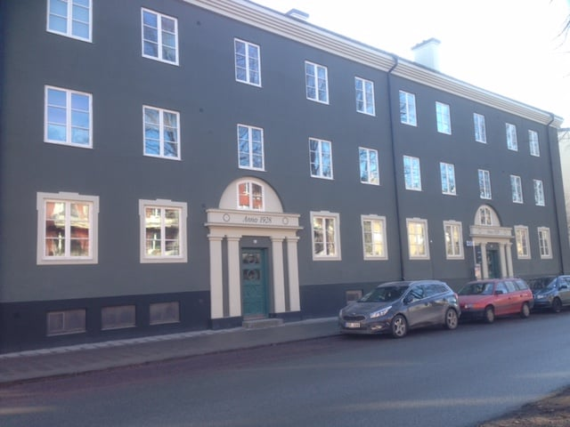 Fasad- och skorstensrenovering, Vaksalagatan Uppsala